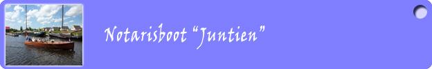 Notarisboot Juntien