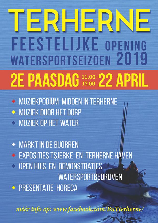 Opening watersportseizoen 2019 in Terherne