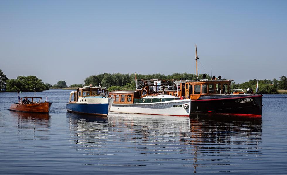 Varend Friesland - Klassieke schepen in de vaart