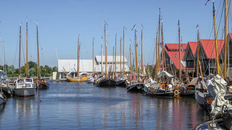 Schepenhal van Varend Friesland bij Terherne Haven